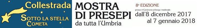 Collestrada Sotto la Stella Cometa - Mostra Presepi 2017/2018