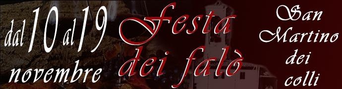 Festa dei Falò 2017