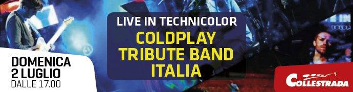 Live in Technicolor  - Coldplay Tribute Band Italia