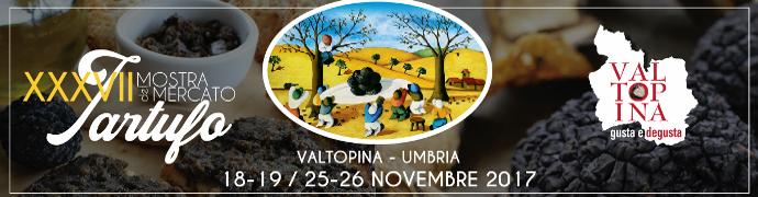Mostra Mercato Nazionale del Tartufo di Valtopina 2017