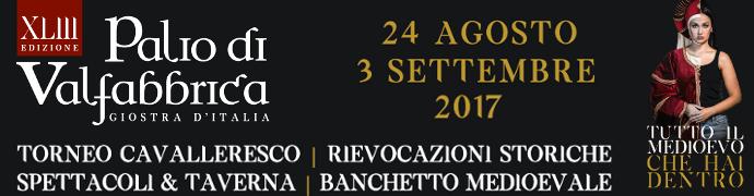 Palio di Valfabbrica - Giostra d'Italia 2017