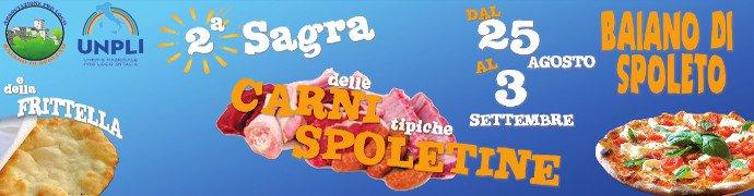 Sagra delle Carni Spoletine e della Frittella 2017