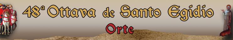 Ottava de Santo Egidio 2019