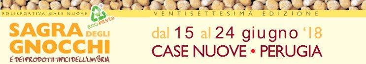 Sagra degli Gnocchi e dei Prodotti Tipici dell'Umbria