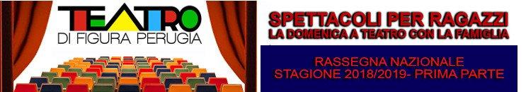 Teatro Ragazzi a Perugia Umbria - Stagione Teatrale 2018