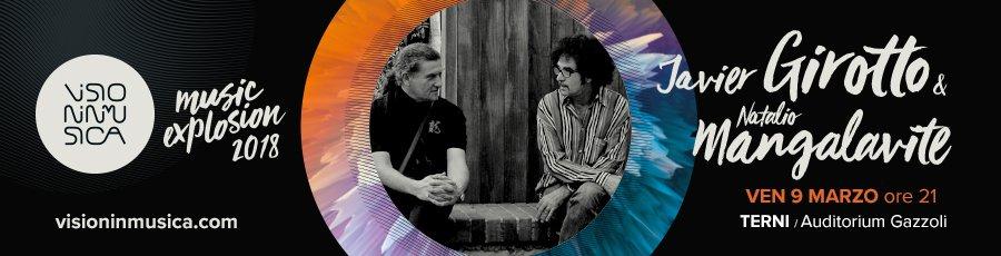 Javier Girotto e Natalio Mangalavite - Visioninmusica 2018