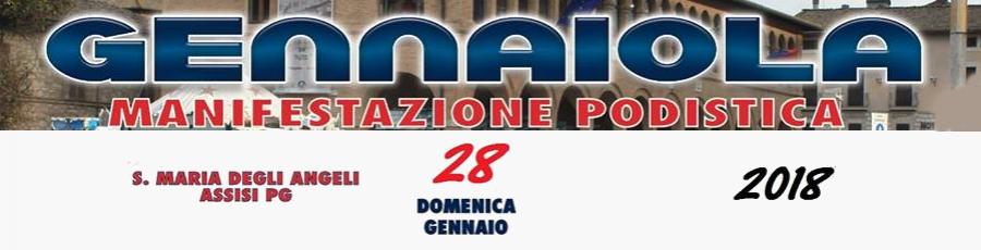 Gennaiola 2018 - Manifestazione Podistica