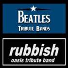 Concerto THE BEETLES (Tribute Beatles) e Concerto RUBBISH (Tribute Oasis)