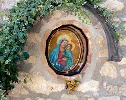 Chiesa di Santa maria del Ramo o di ramici a Lugnano in Teverina