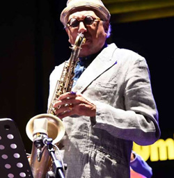 "CHARLES LLOYD ""Kindred Spirits"" feat. JULIAN LAGE, MARVIN SEWELL, REUBEN ROGERS, ERIC HARLAND a Umbria Jazz 2019"
