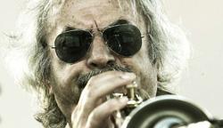 Enrico Rava con FRANCESCO BEARZATTI, GIOVANNI GUIDI FRANCESCO DIODATI, GABRIELE EVANGELISTA, ENRICO MORELLO a Umbria Jazz 2019