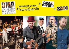 Orchestra Multietnica di Arezzo - Bandabardò - Casa del Vento - 88 Folli