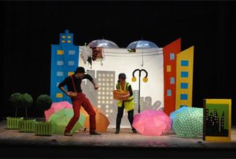 """Funghi in città"" - Arterie Teatro (BA) a Figuratevi di essere bambini tutta l'estate 2019"