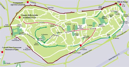 Mappa HISPELLVM