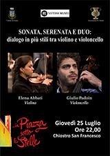 Sonata, Serenata e Duo: dialogo in più stili tra violino e violoncello