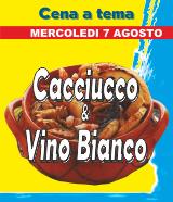 Cena a tema Cacciucco & Vino Bianco