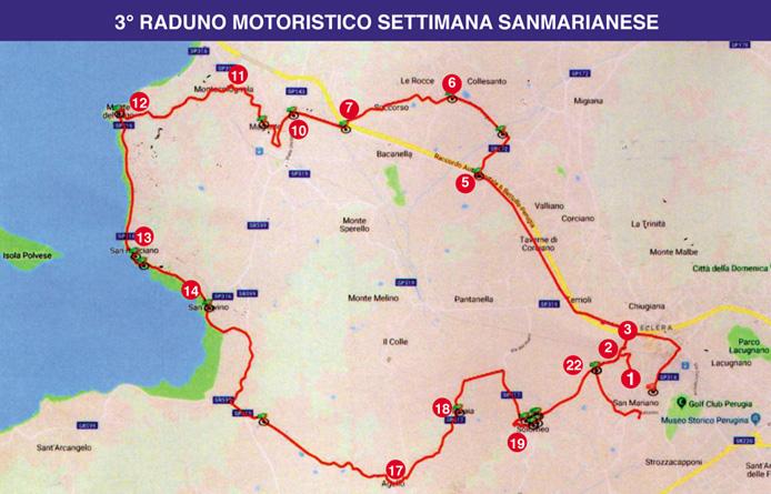 Raduno Motoristico Settimana Sanmarianese