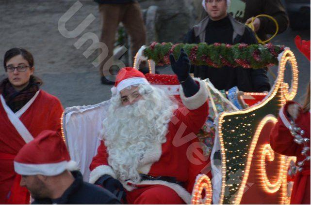 Babbo Natale Per le Vie