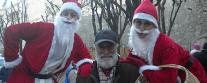 Babbo Natale in Lambretta