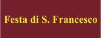 Festa di S. Francesco Patrono 2016
