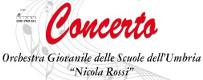 Concerto dell'Orchestra Giovanile delle Scuole dell'Umbria
