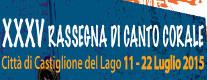 Rassegna di Canto Corale Città di Castiglione del Lago 2015