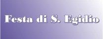 Festa di S. Egidio 2015