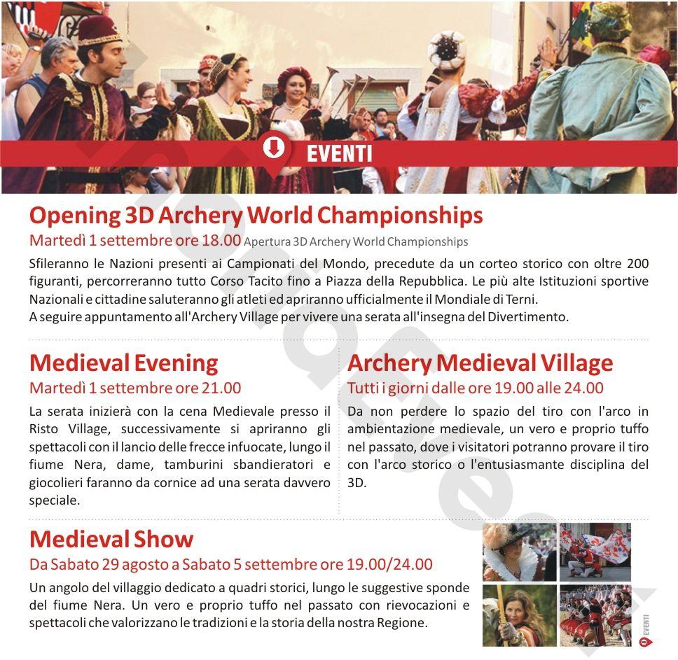 Archery Village - Campionato del Mondo di Tiro con l'Arco 2015