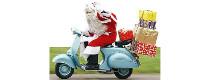 Babbo Natale arriva in Vespa 2017