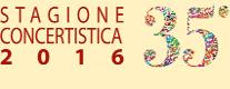 Stagione Concertistica Amici della Musica 2016