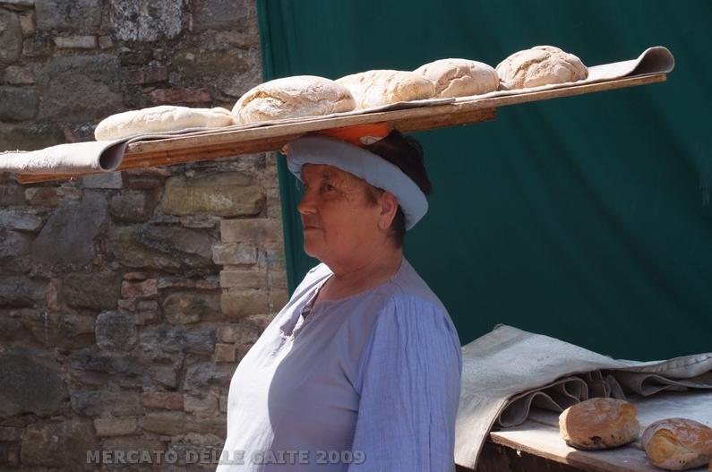 Il Mercato delle Gaite di Bevagna - La Fornaia