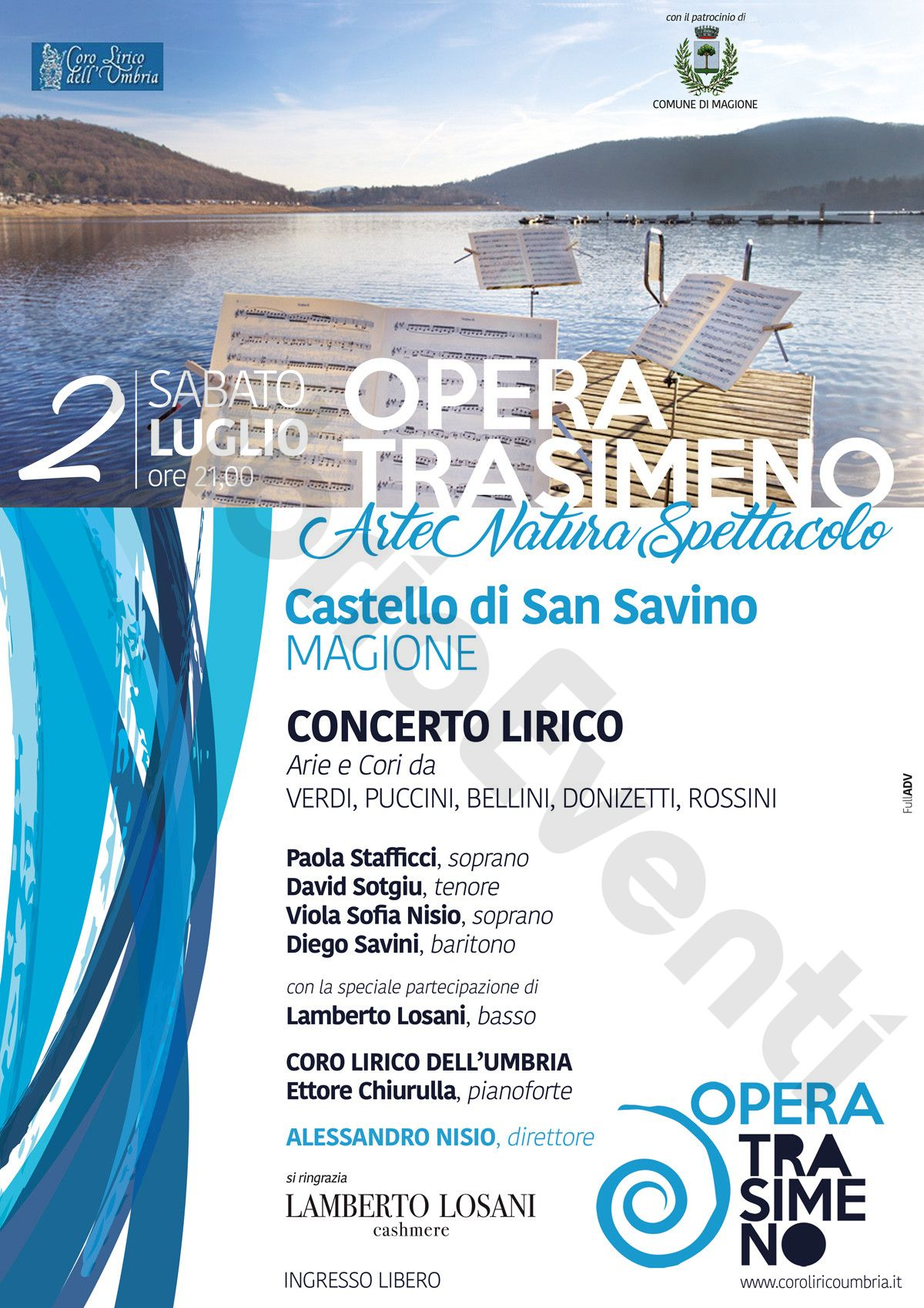 Locandina ed Informazioni Opera