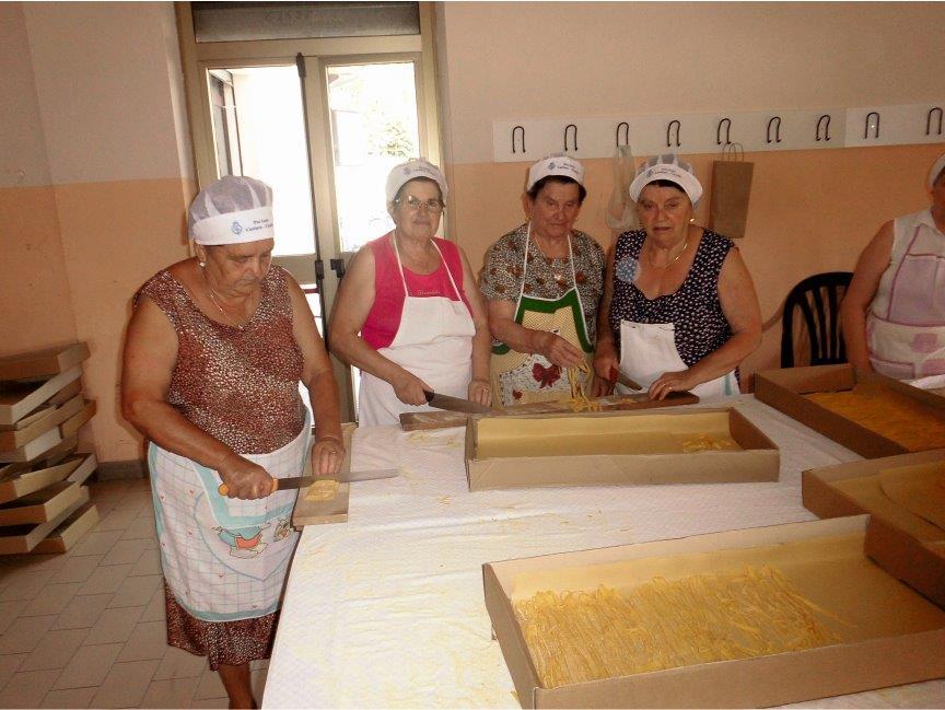 Sagra della Tagliatella Fatta a Mano - Cartiere Caselle di Gualdo Tadino