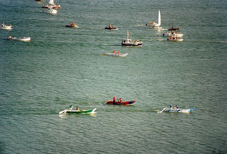 Palio delle barche a Passignano sul Trasimeno