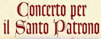 Concerto in Onore del Santo Patrono San Rufino e di Santa Chiara