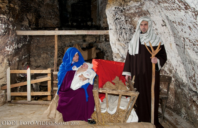 Presepe Vivente ad Acquasparta - Sacra Famiglia