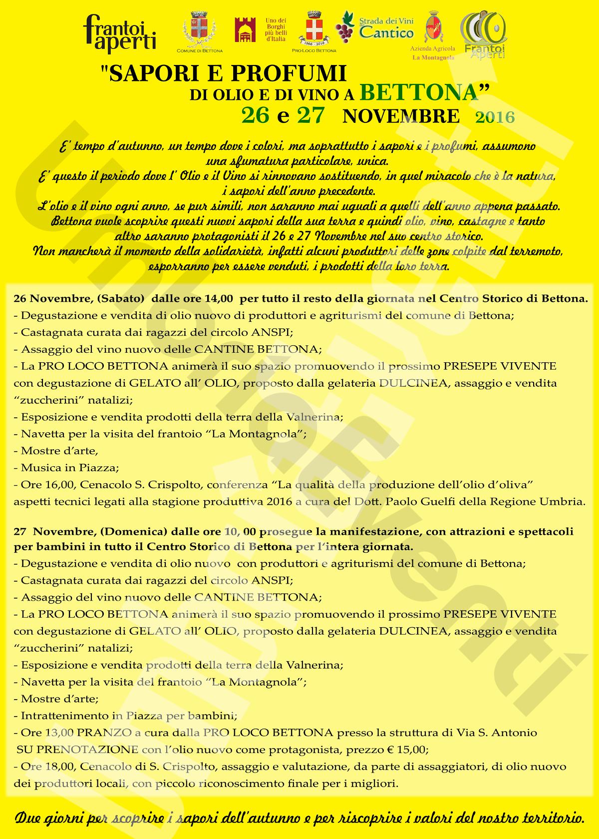 Programma Completo 2016