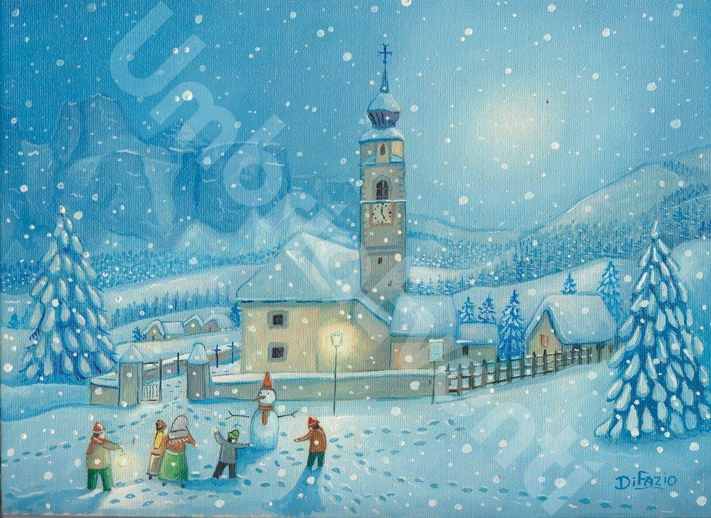 Marino di Fazio - Nevicata a Colfosco