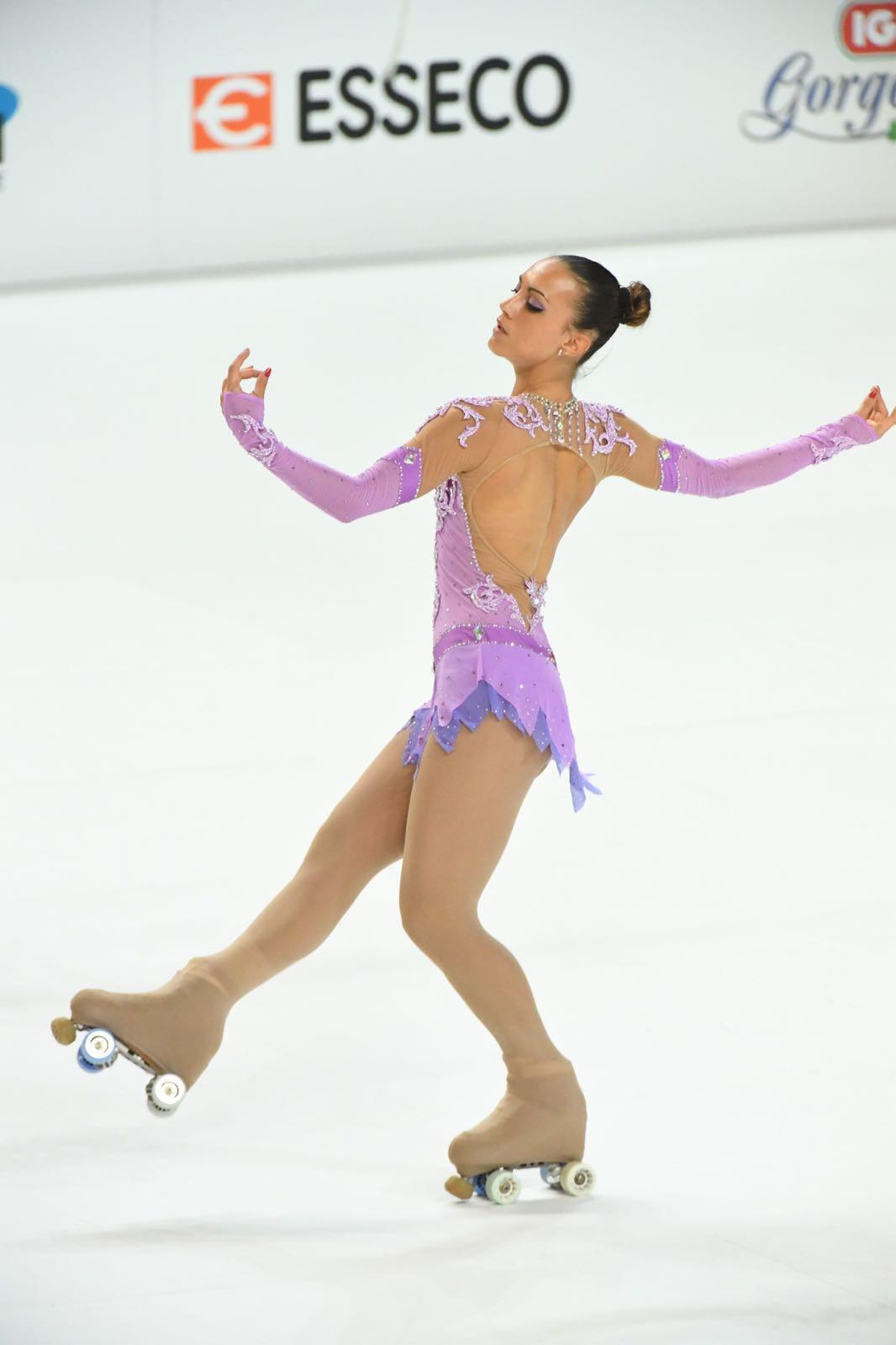 Michela Cima - 5 titoli  italiani, 4 titoli europei  e campionessa del mondo junior
