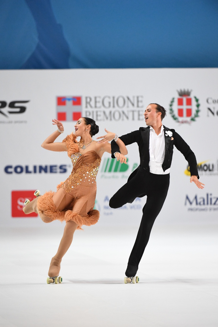 Silvia Stibily - Andrea Bassi - Gare coppia: 2013 1 classificati europei oeiras , 3 classificati mondiali taipei - 2014 3 classificati reus mondiali -  2015  2 classificati cali mondiali - 2016 1 classificati italiani roana 2 classificati novara mondiali