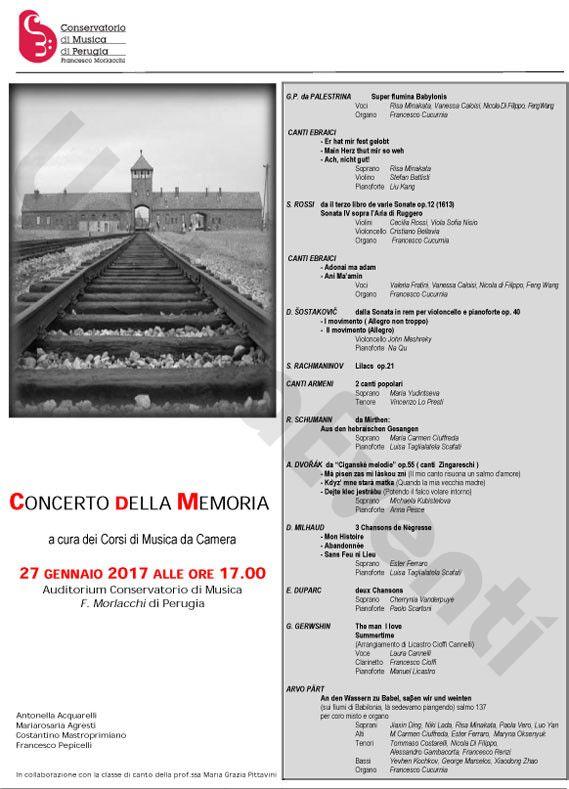 Programma Concerto 2017