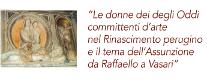Le Donne degli Oddi Committenti d'Arte nel Rinascimento Perugino