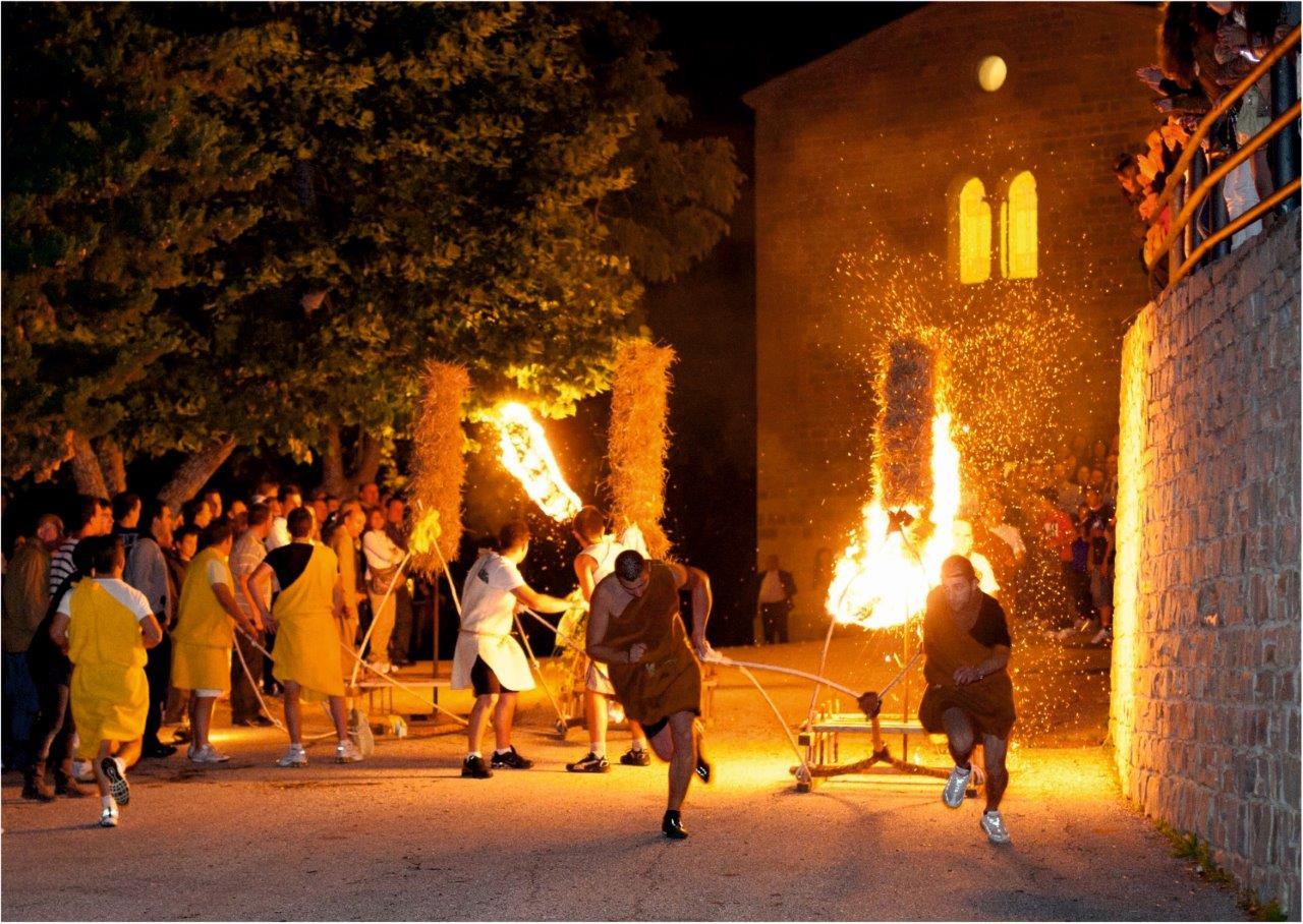 Festa del Fuoco - Grello di Gualdo Tadino