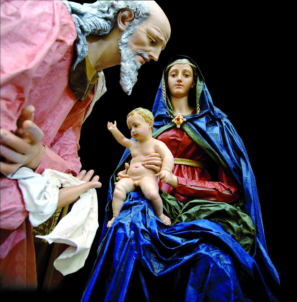 Presepi d' Italia - Madonna del Perugino