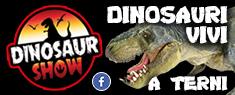 Dinosaur Show al Teatro Secci di Terni