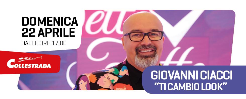 Giovanni Ciacci al Centro Commerciale Collestrada