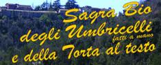 Sagra Bio degli Umbricelli e della Torta al Testo 2019