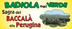 Badiola nel Verde - Sagra del Baccalà alla Perugina 2018