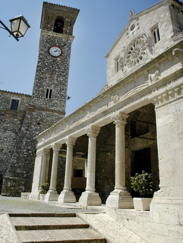 Chiesa Santa Maria o Collegiata a Lugnano in Teverina