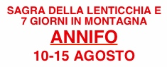 Sagra della Lenticchia - Sette Giorni in Montagna 2018